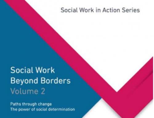 """ดาวน์โหลดได้ฟรี หนังสือ """"การสังคมสงเคราะห์ไร้พรมแดน ฉบับที่ 2: เส้นทางสู่การเปลี่ยนแปลง พลังของปัจจัยกำหนดทางสังคม"""